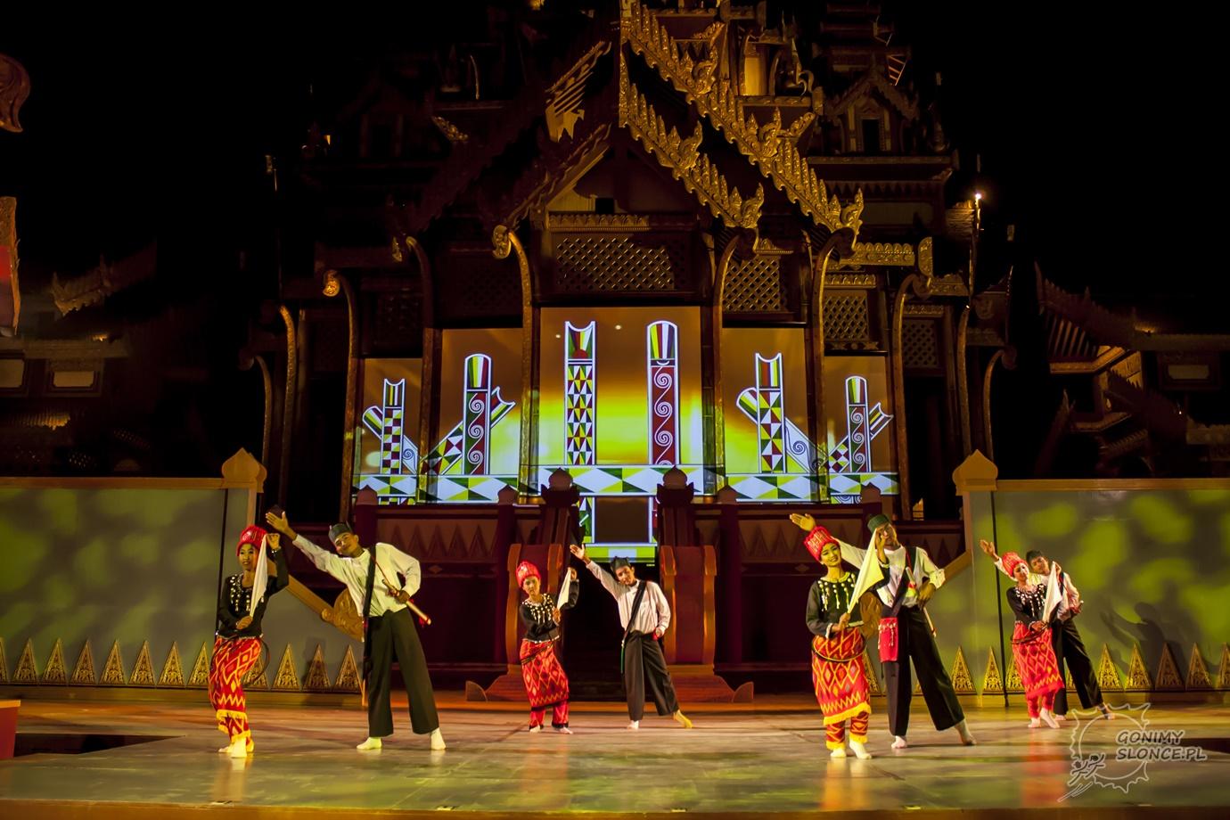 Dandaree - birmańskie tańce ludowe