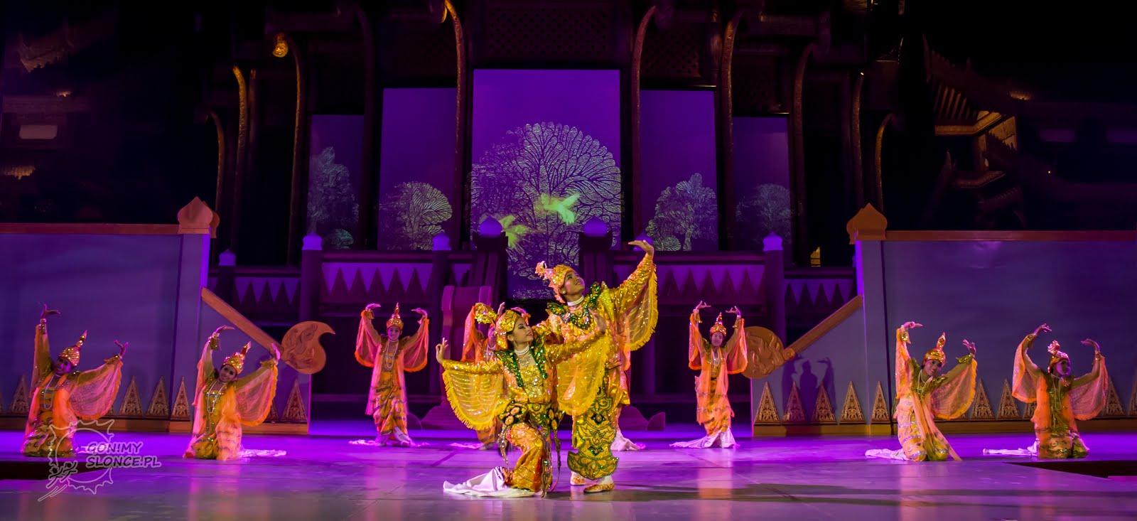 Birma, Spektakl z muzyką i kulturą całego kraju