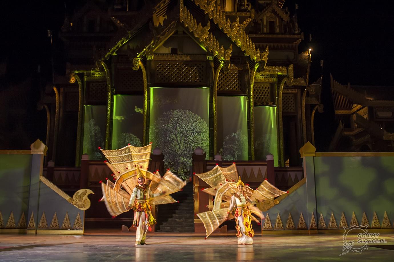 Dandaree - tradycyjny taniec motyli