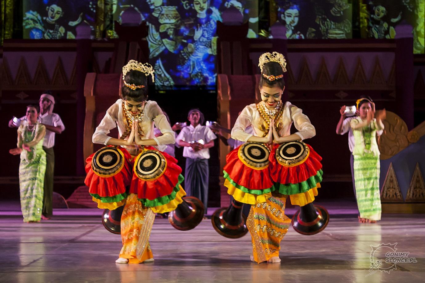 Dandaree - Mjanmarki (Birmanki) tradycyjne podziękowanie