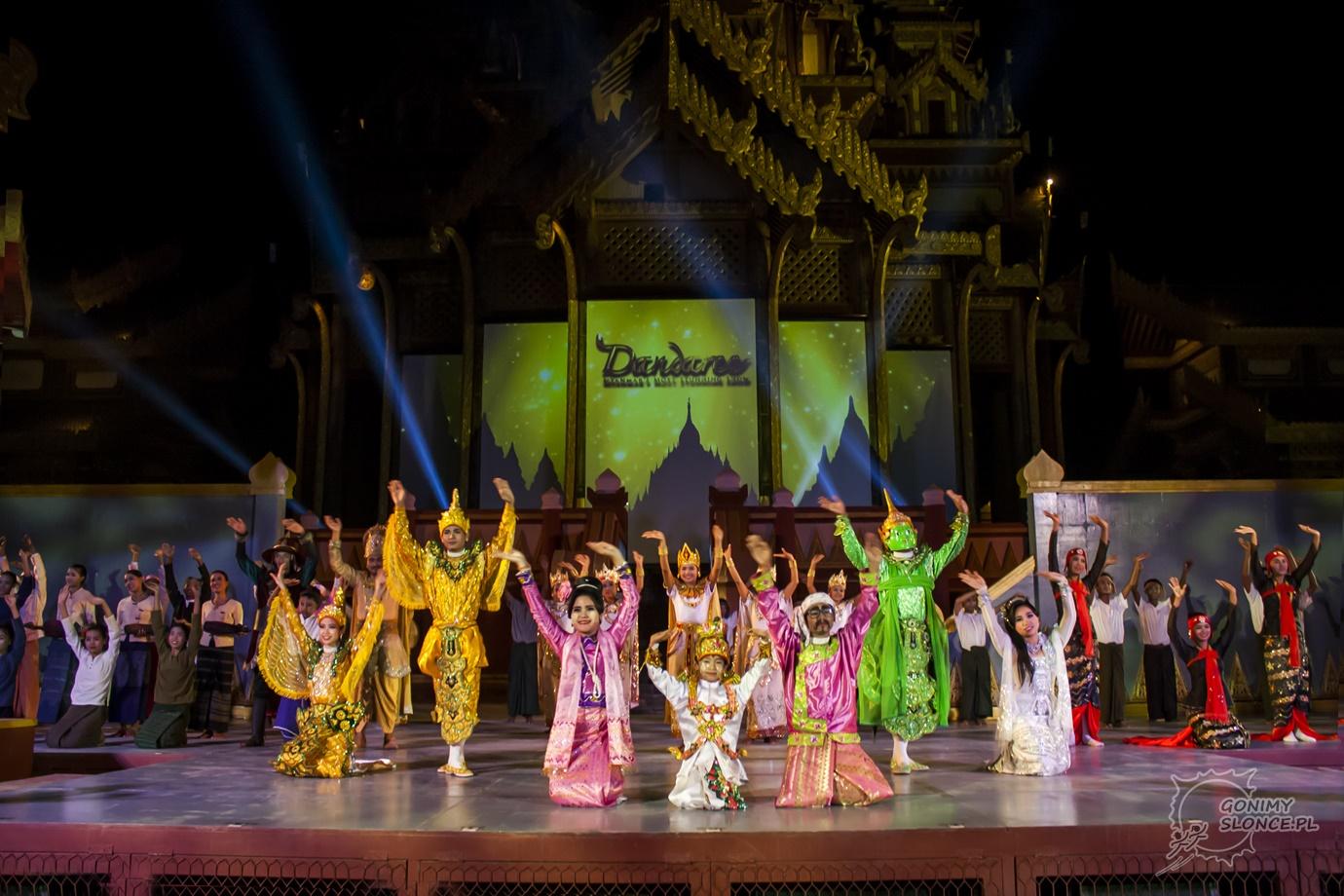 Dandaree - przedstawienie i aktorzy Starego Bagan