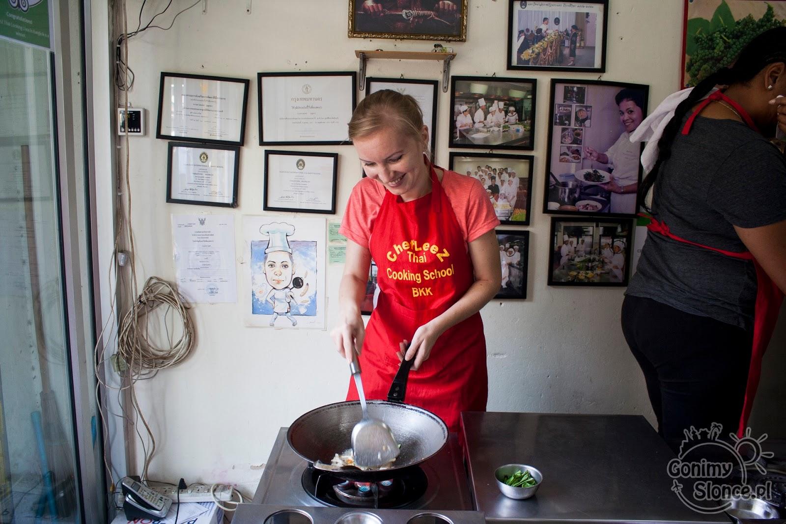 Kurs gotowania tajskiej kuchni w Bangkoku