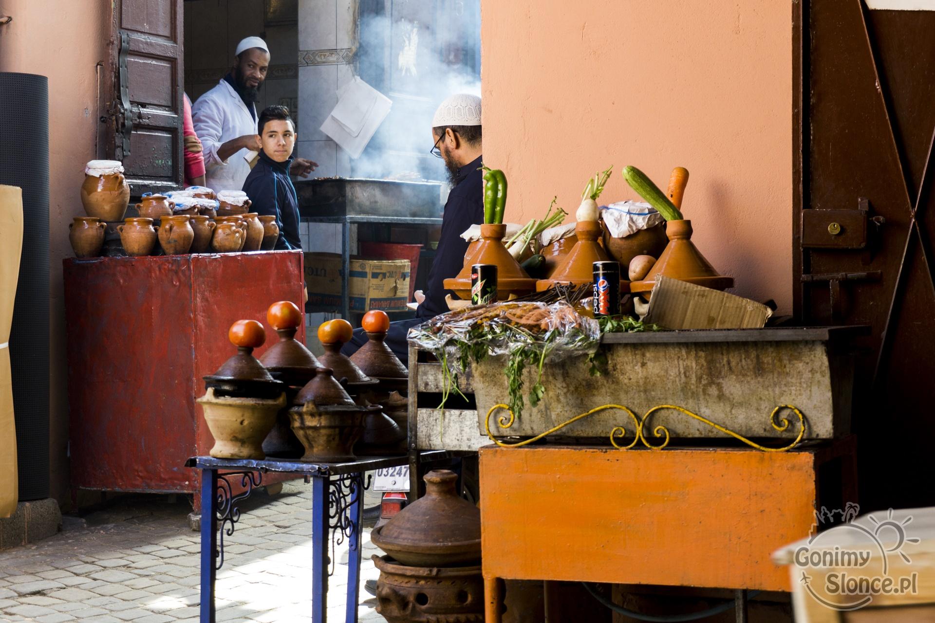 Marrakesz, tajine, garkuchnia