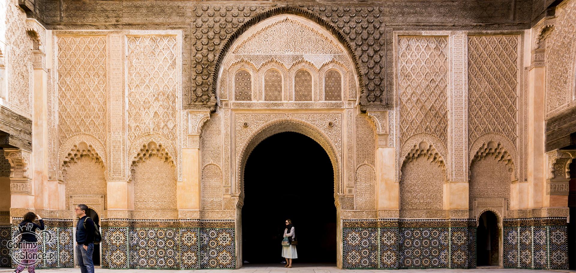 Maroko, Marrakesz - informacje praktyczne (Medresa Ben Joussef)