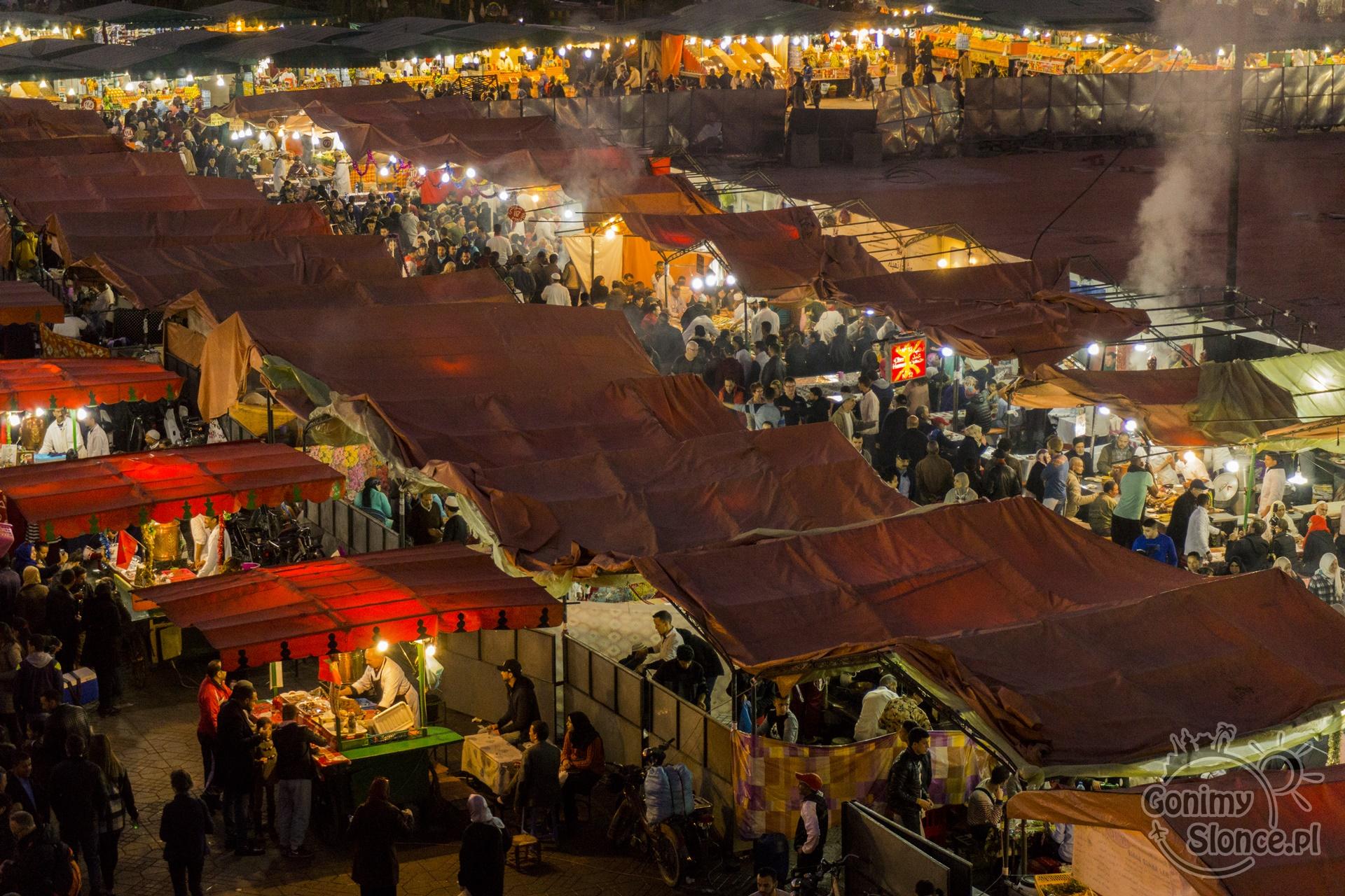 Marrakesz, Plac Dżemaa el-Fna