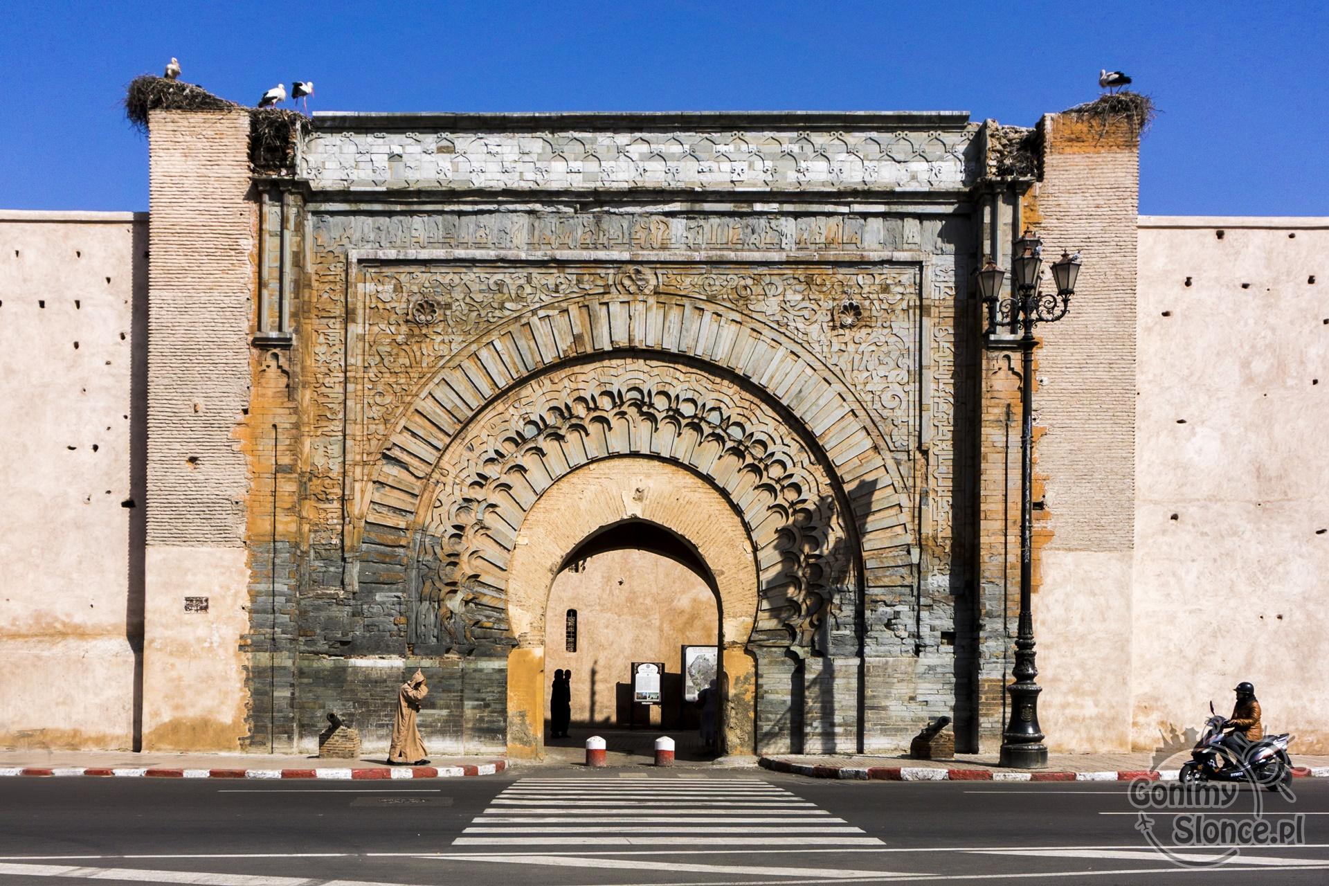 Marrakesz, Bab Agnau, Kazba
