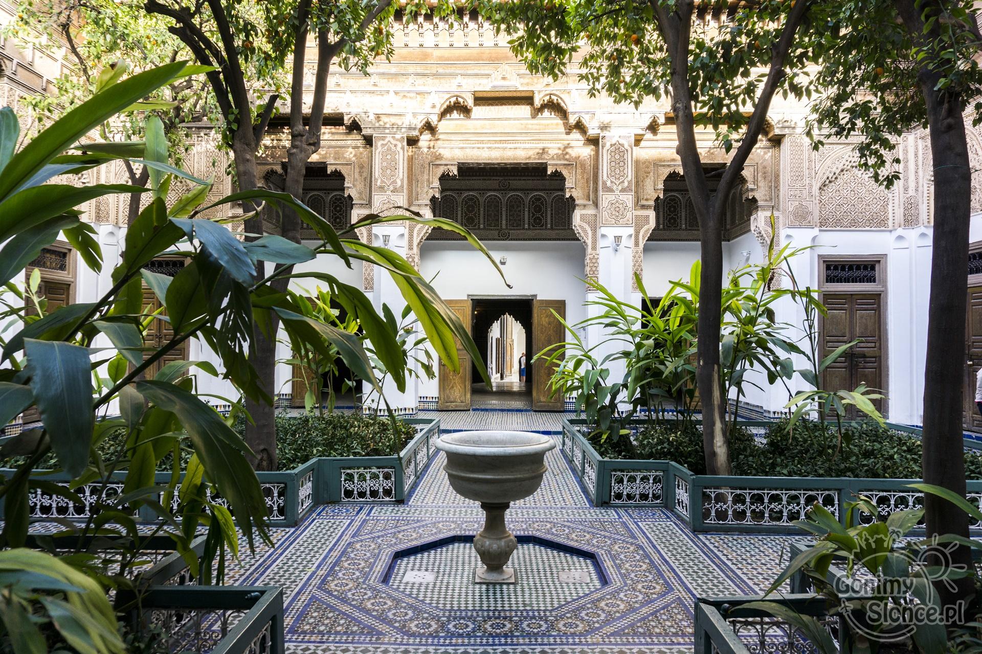 Marrakesz, Pałac El-Bahia