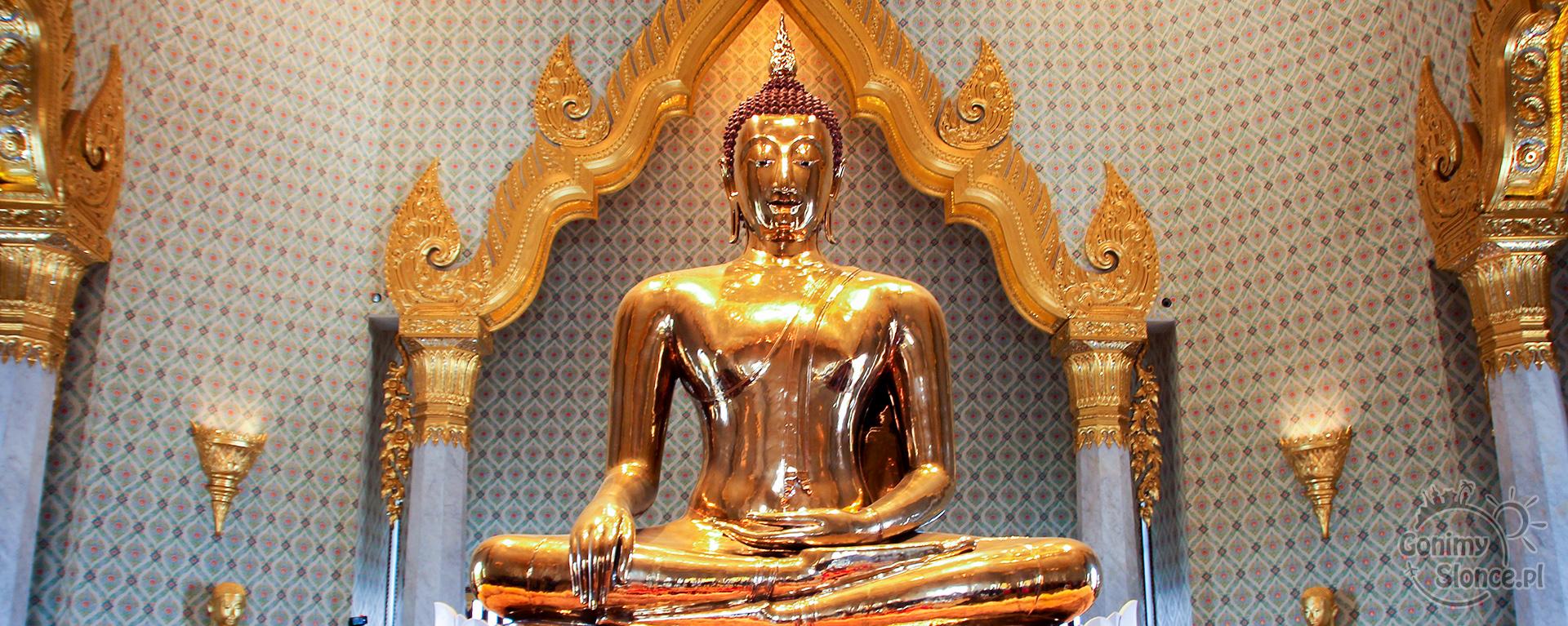 Złoty Budda, Wat Traimit, Bangkok