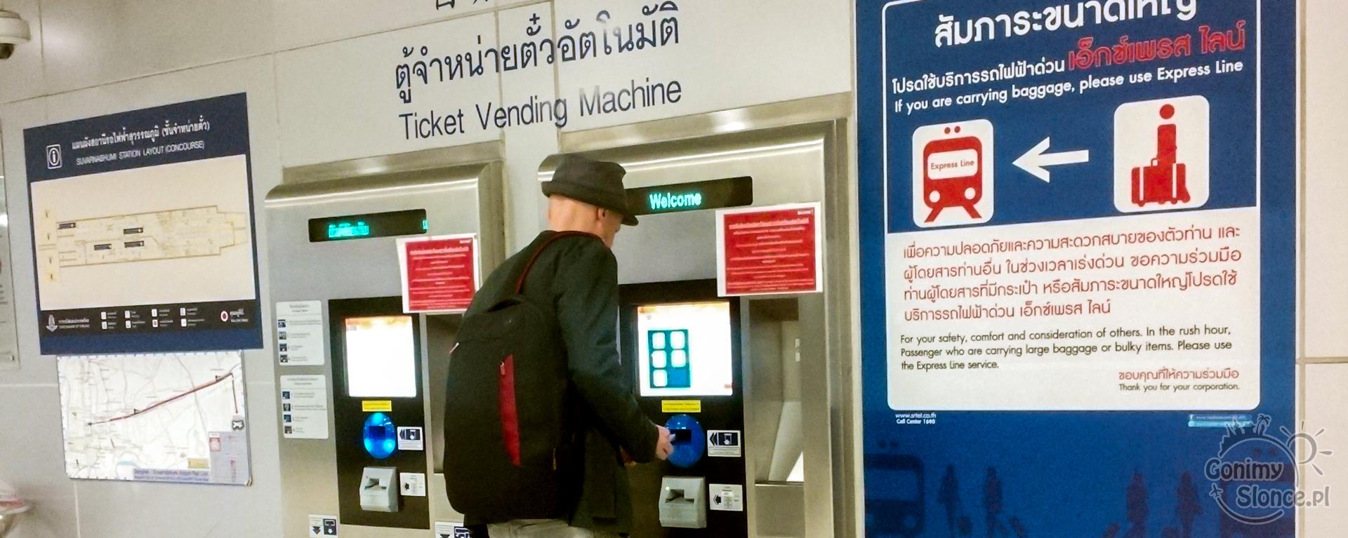 jak kupować bilety w Bangkoku