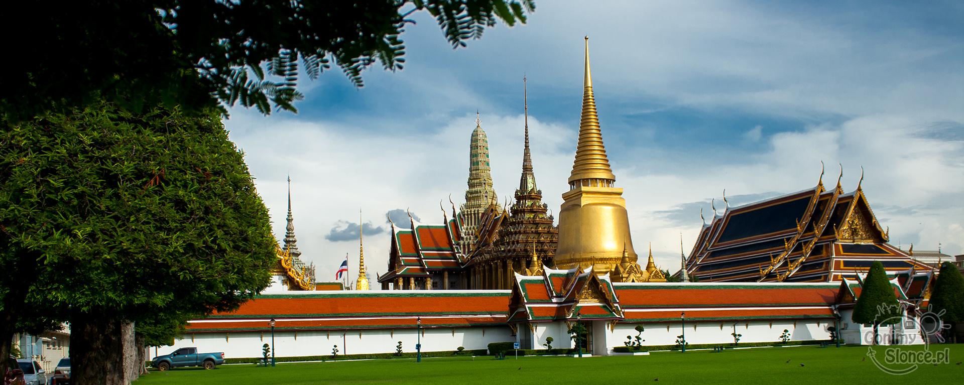 Wat Phra Kaew i Pałac w Bangkoku