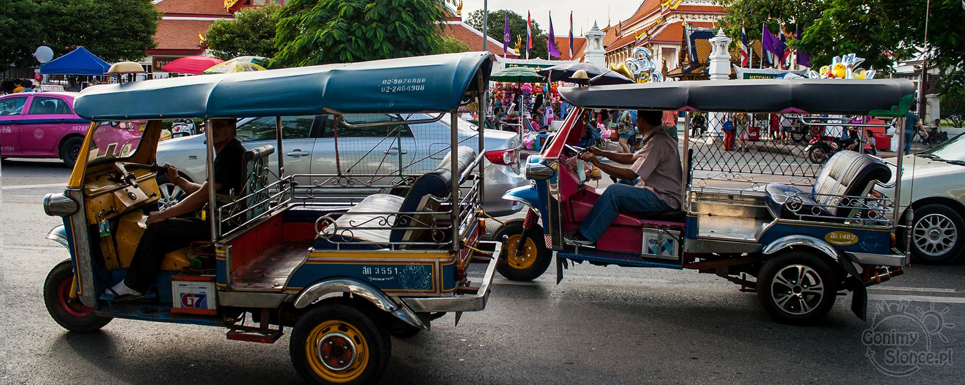Bangkok, Tuk tuk czy warto?
