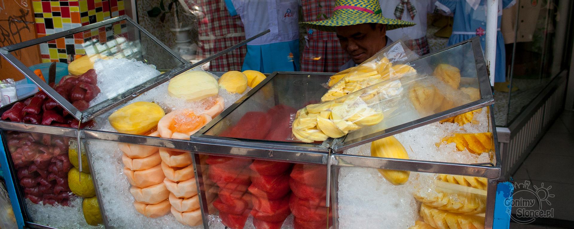 Owoce w Tajlandii, owoce w Bangkoku