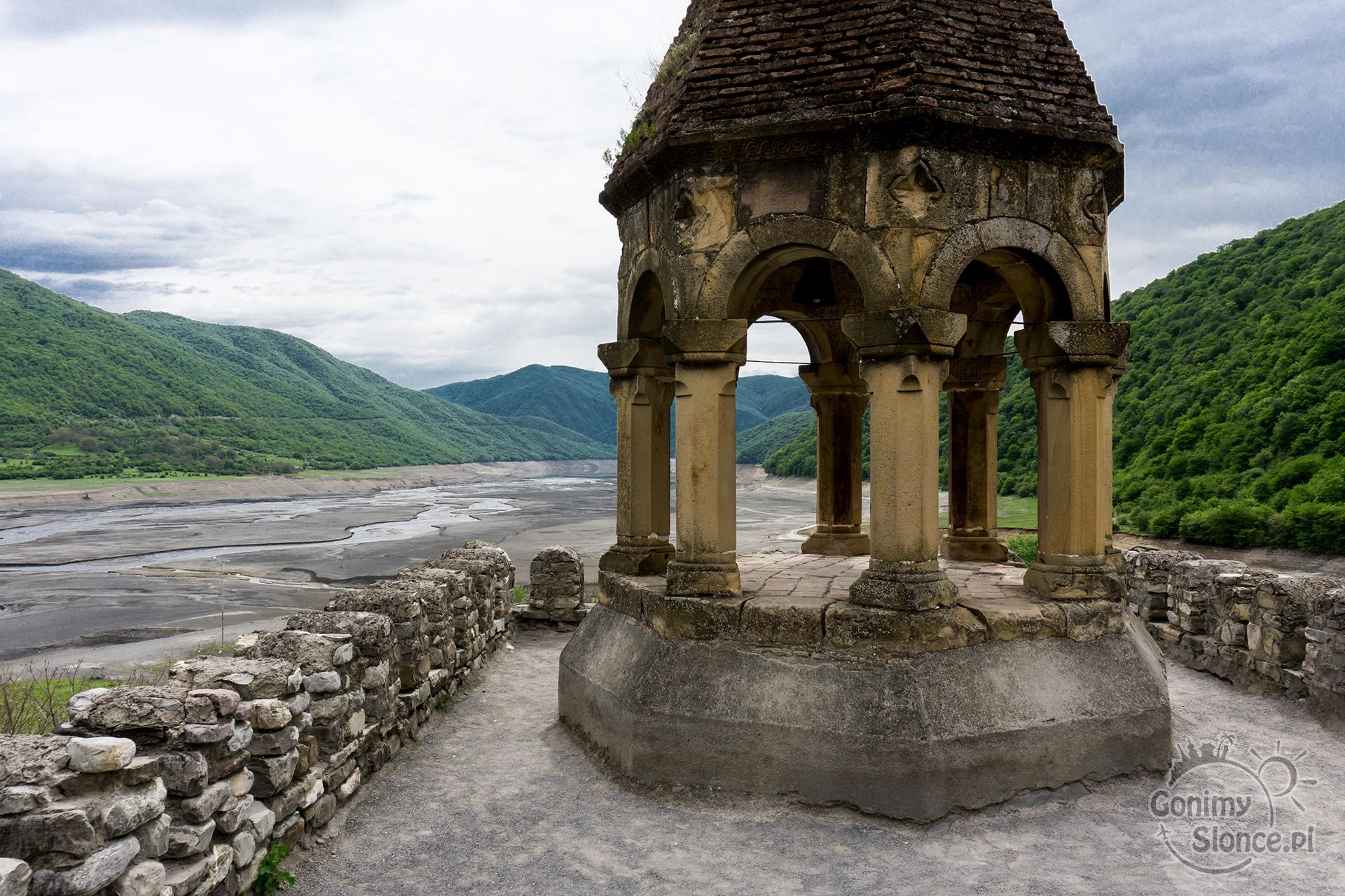 Ananuri, widok na zalew