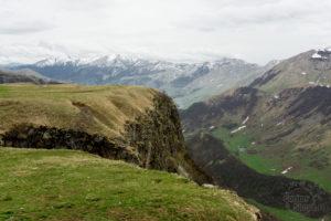 Kanion Aragwi, Gruzja