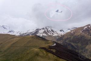 Kazbek Nieśmiały, czyli szczyt w pochmurny dzień