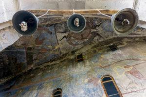 Wardzia / Vardzia - oryginalne freski na ścianach