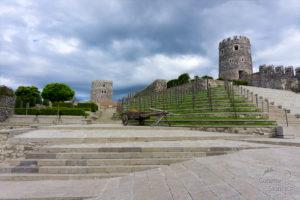 Achalciche, odnowiona część zamku