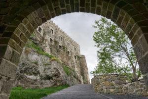 Widok na główny zamek