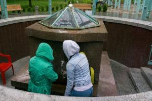 Miejsce do pobierania uzdrowiskowej wody pitnej