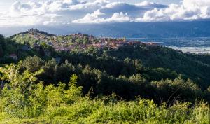Widok na Signagi - Miasto Miłości i Dolinę Alazani