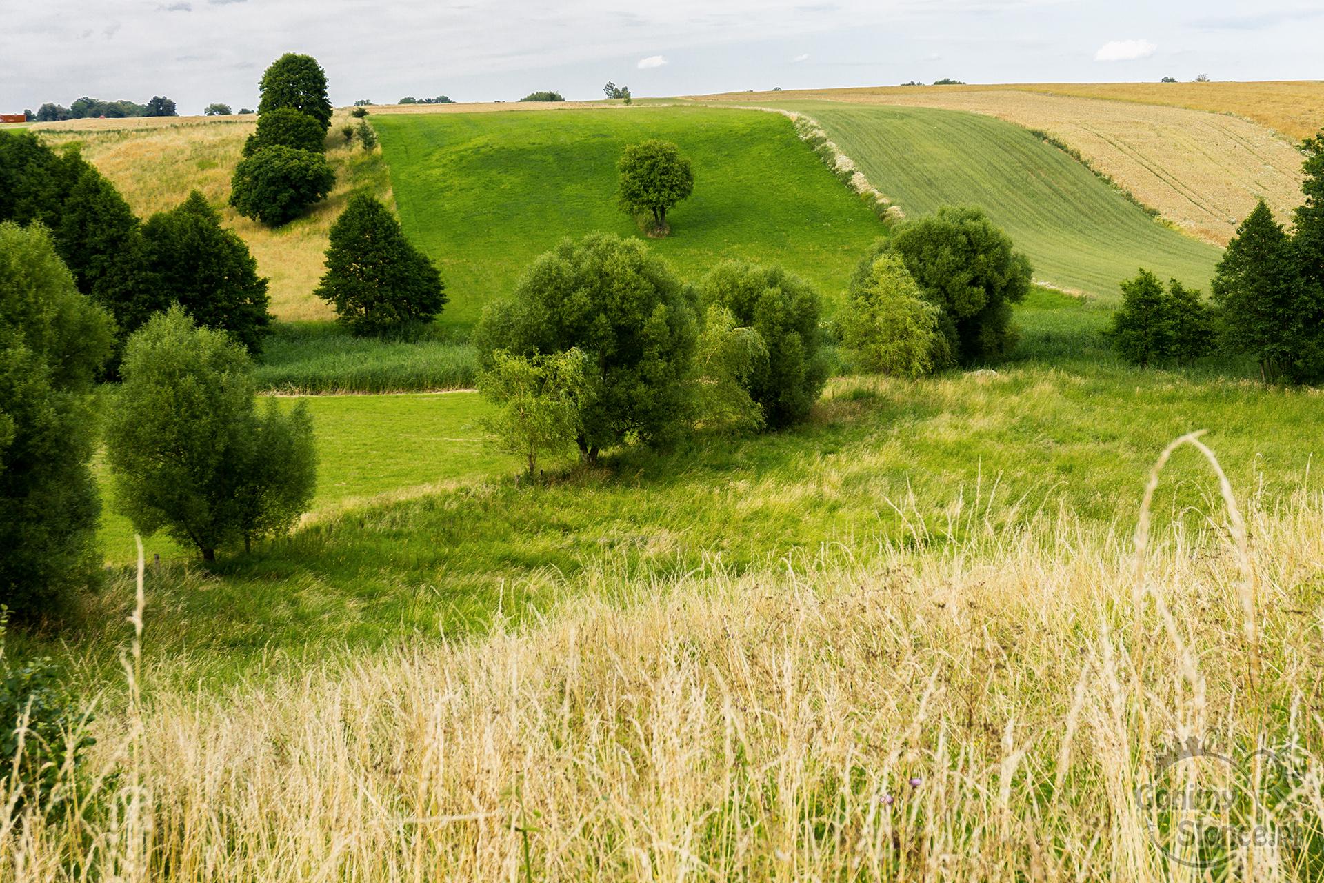 Kolory przyrody, trasy rowerowe, Ostróda
