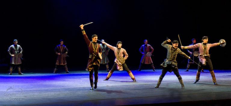 Gruzińskie tradycje - Balet Narodowy Gruzji Sukhishvili, kulturalny blog podróżniczy