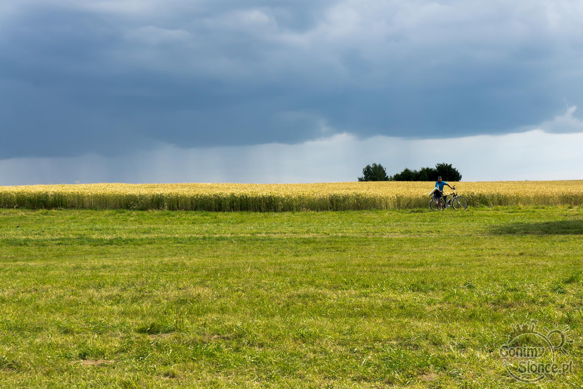 Pola Grunwaldu, rowerem na bitwę