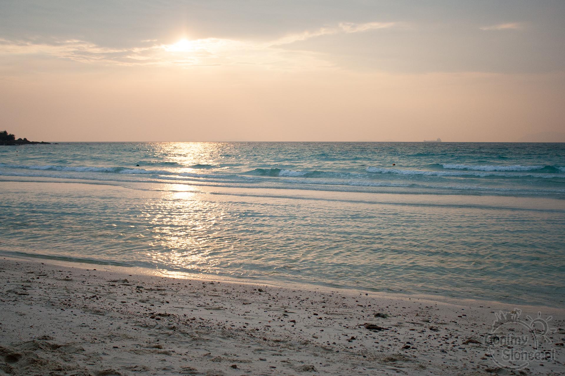Koh Larn - zachód słońca