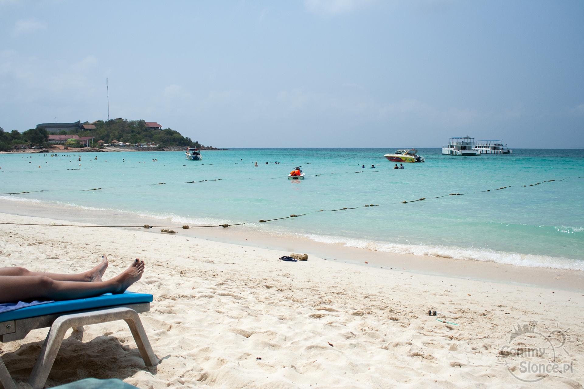 Rajska plaża na Koh Larn - Tien Beach