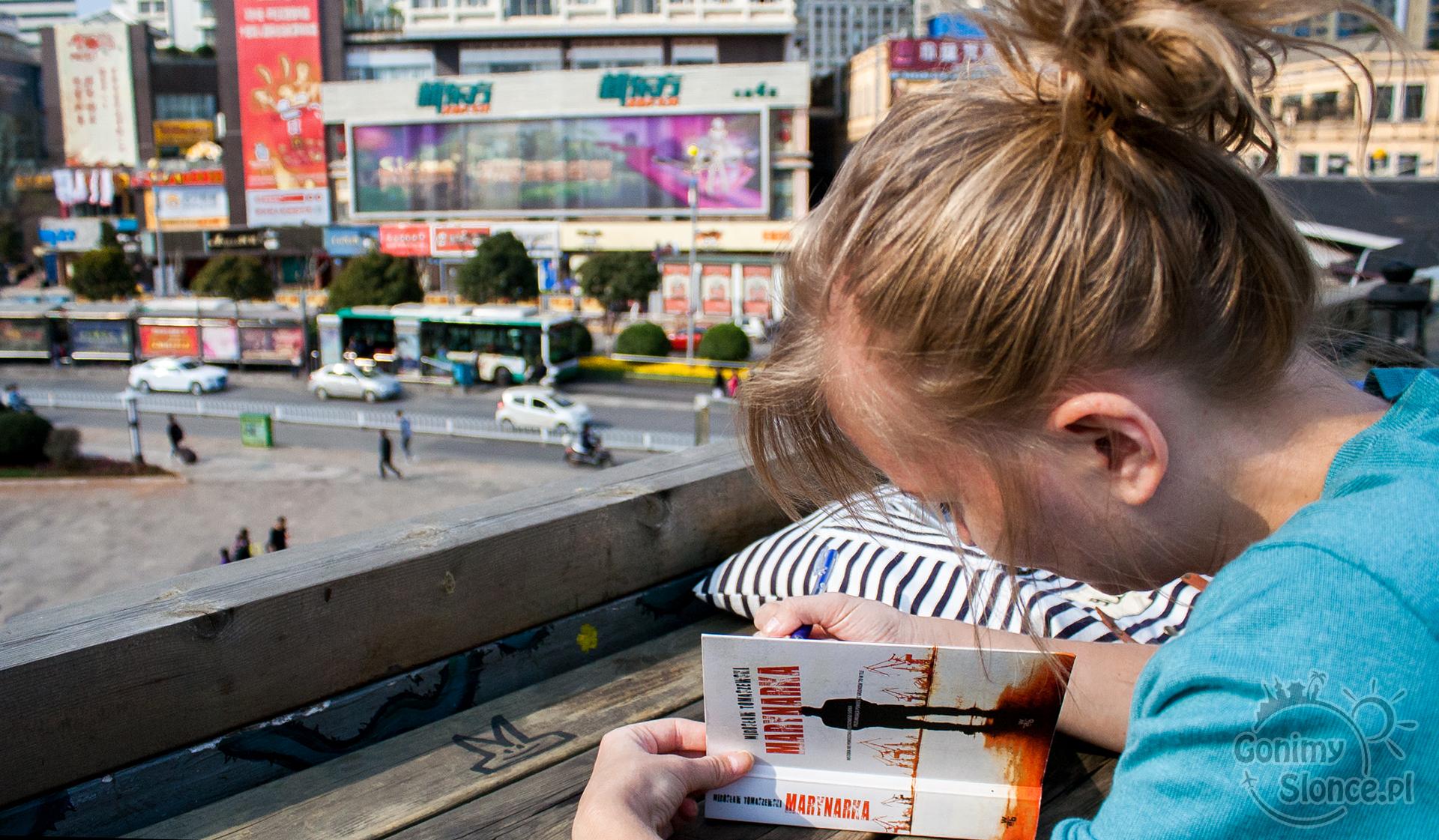 Książka w podróży, Chiny, Kunming