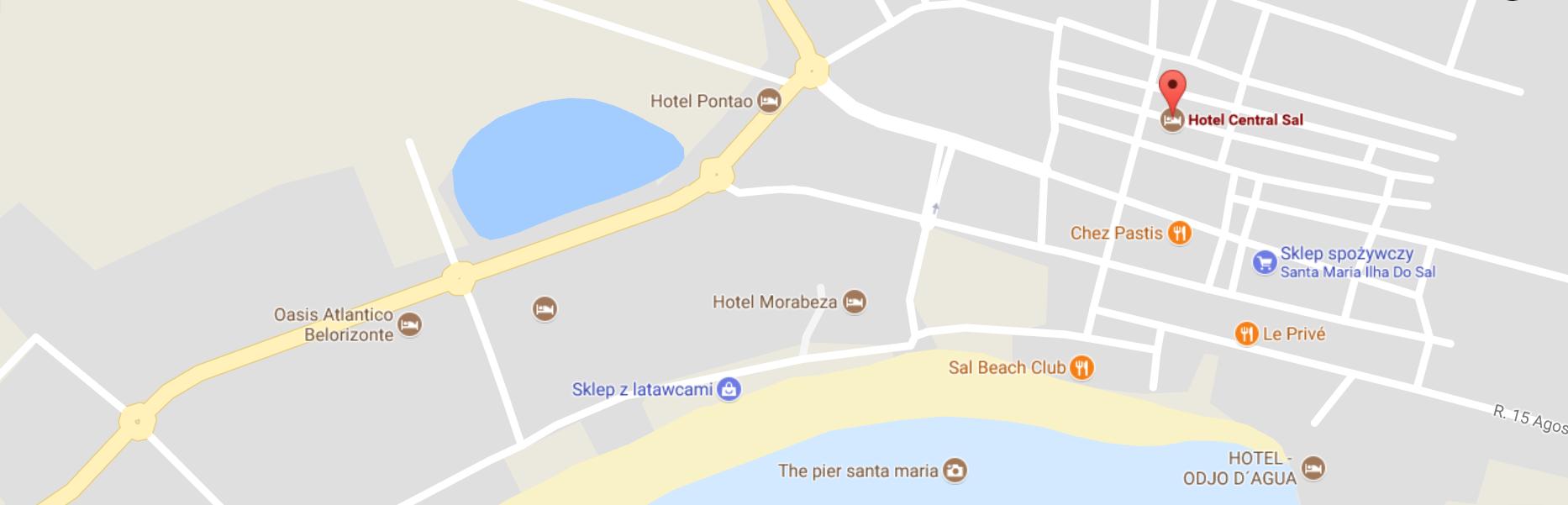 Mapa książek w podróży, Sal, Cabo Verde, Heban