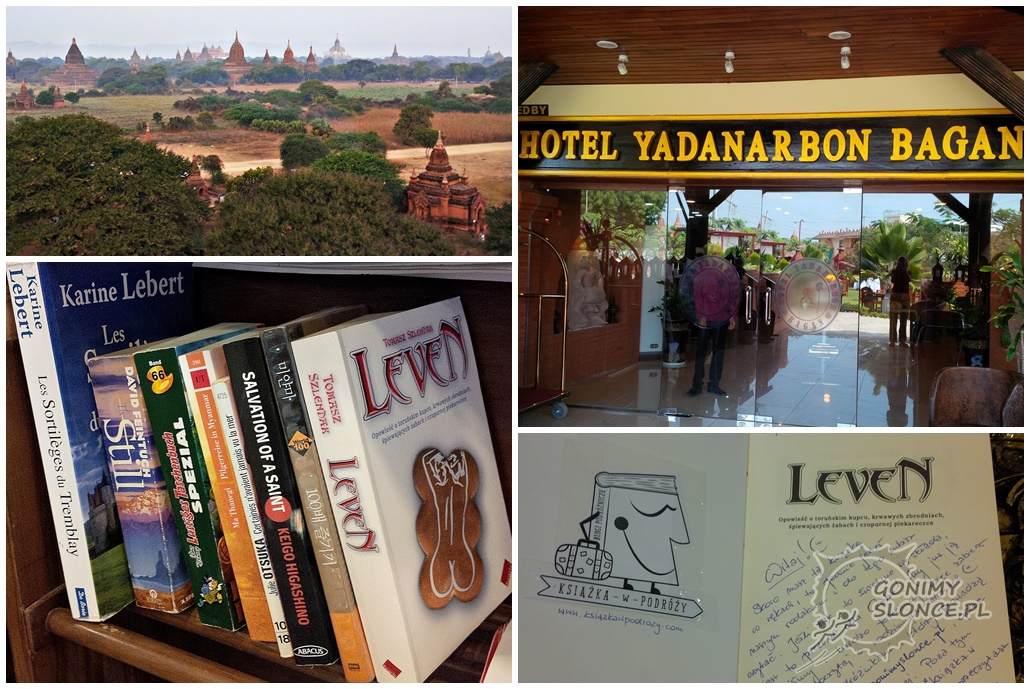Książka w podróży, Bangkok, Tajlandia, Leven