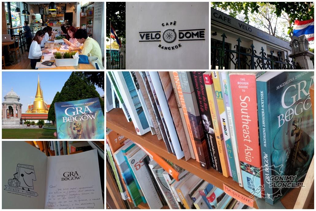 Książka w podróży, Bangkok, Tajlandia, Gra Bogów