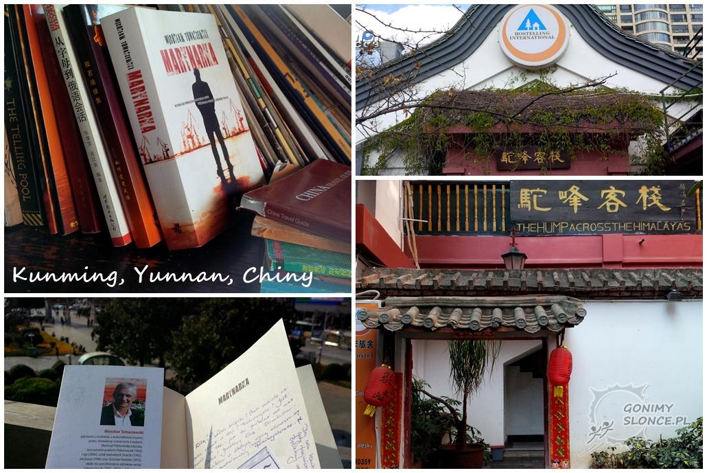 Książka w podróży, Kunming, Chiny, Marynarka