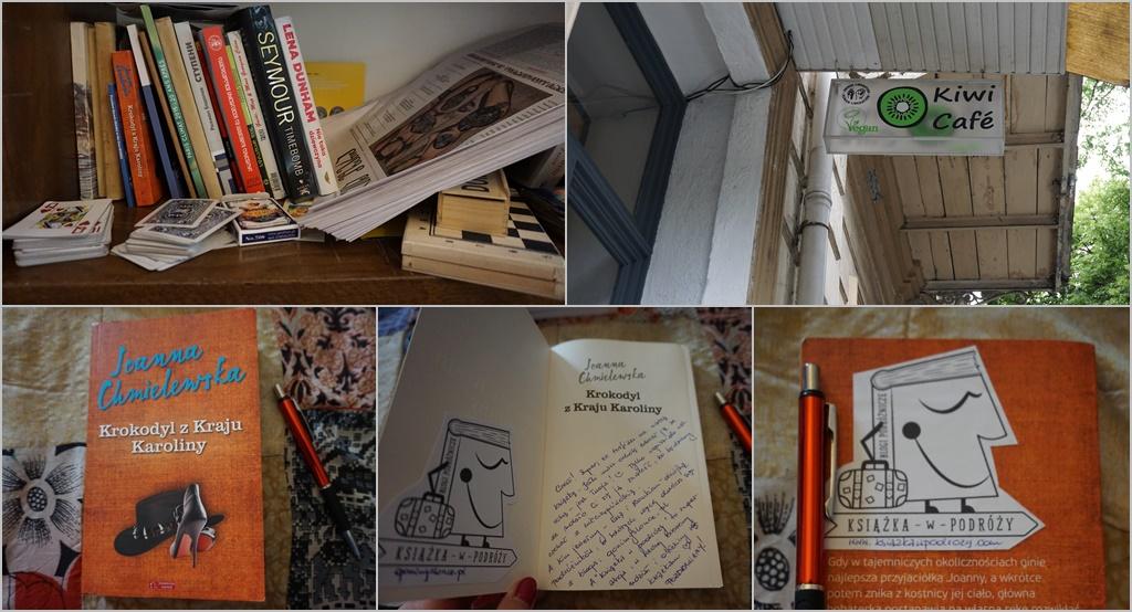 Książka w podróży, Tbilisi, Krokodyl z kraju Karoliny