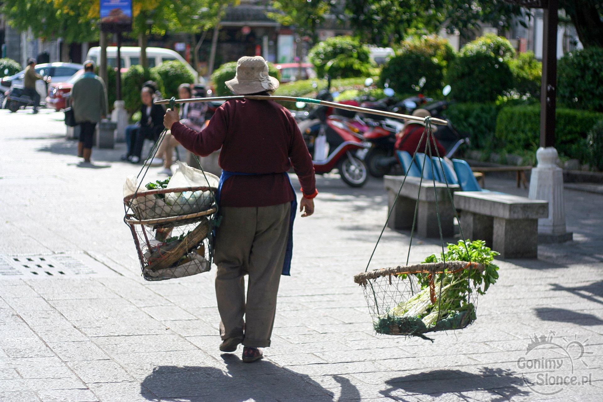 Stare Miasto Dali - Chiny / wady podróży dookoła świata