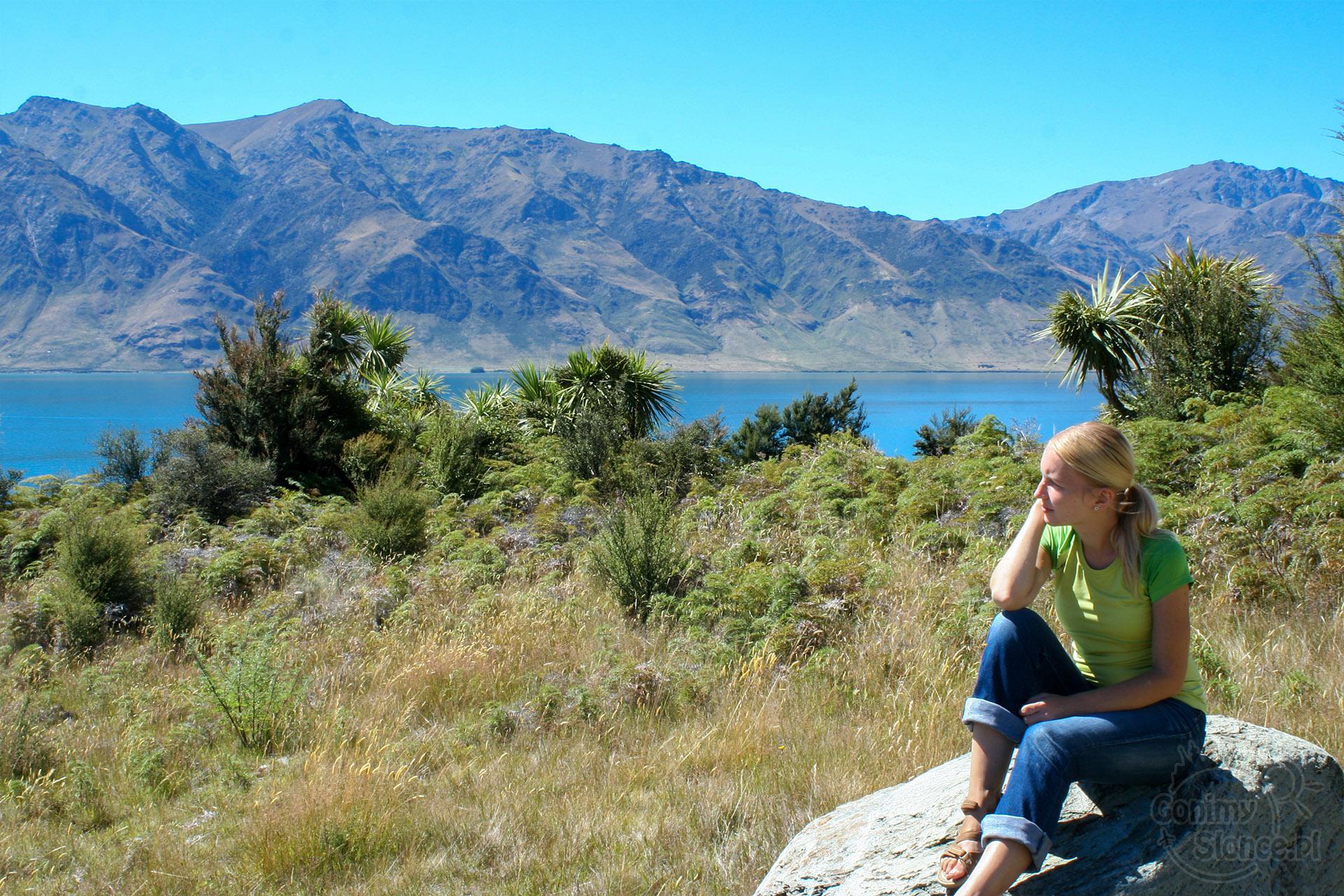 Nowa Zelandia, tęsknota na domem - wady podróży dookoła świata