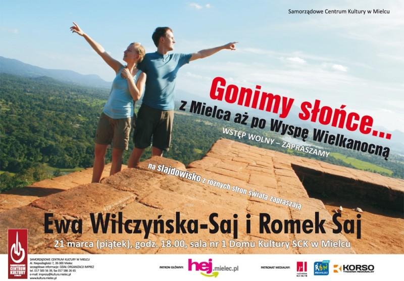 Gonimyslonce.pl w Mielcu - plakat