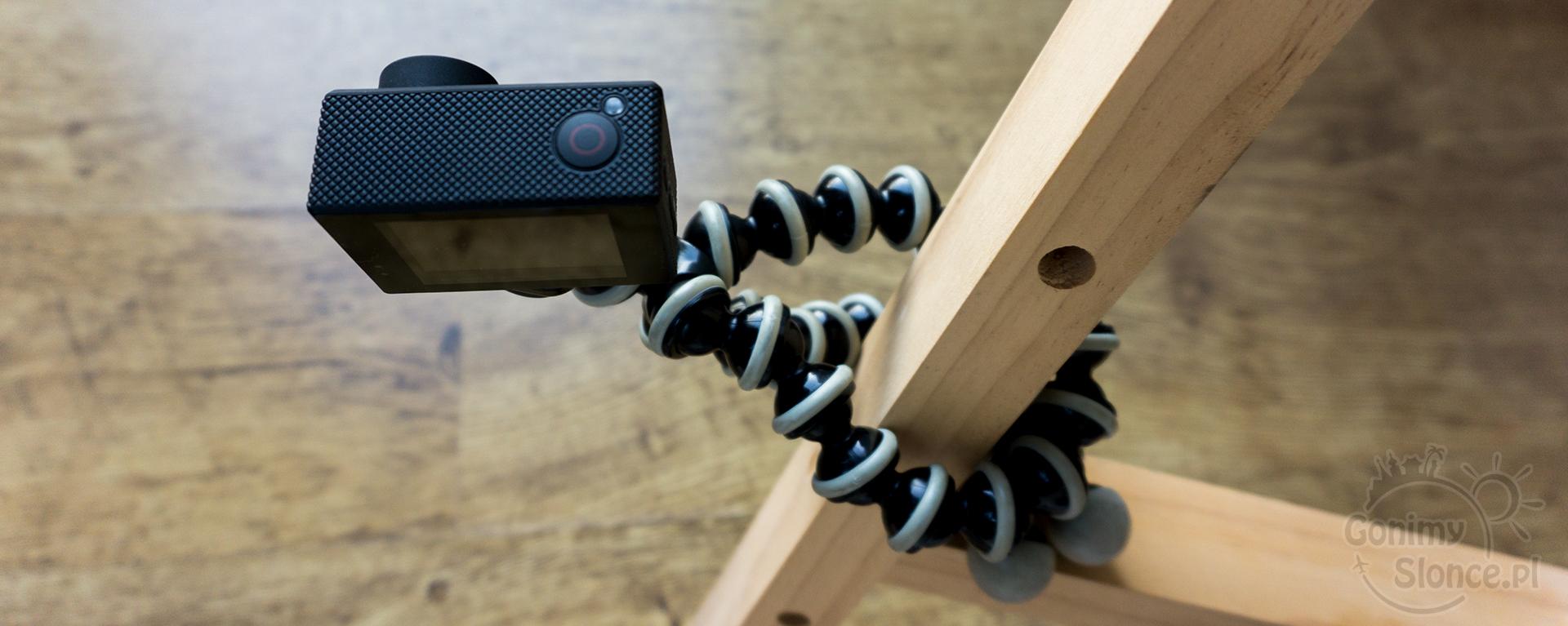 podróżnicze gadżety - statyw Gorilla - aparat, kamerka
