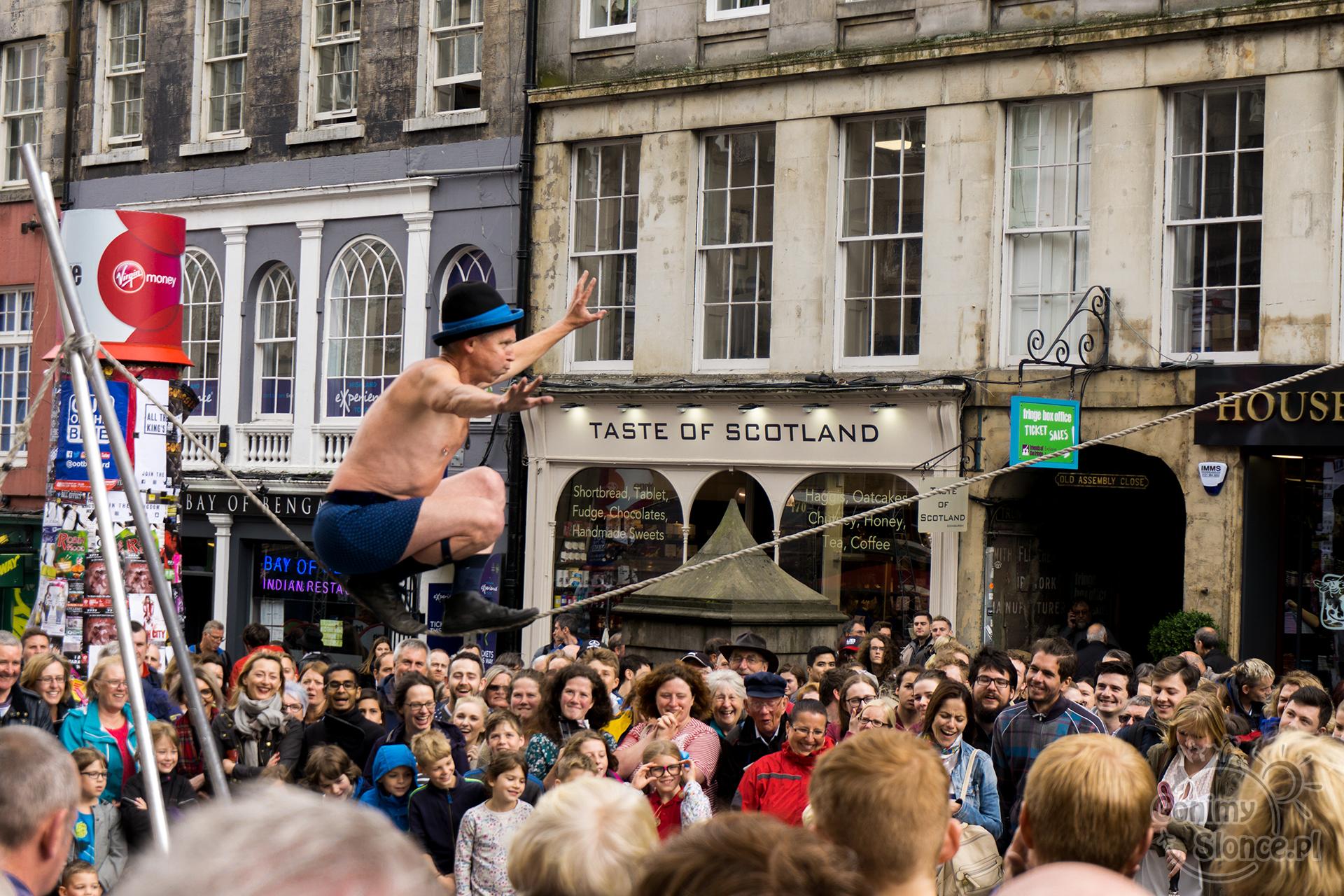 Edynburg - przewodnik - letnie festiwale 2017