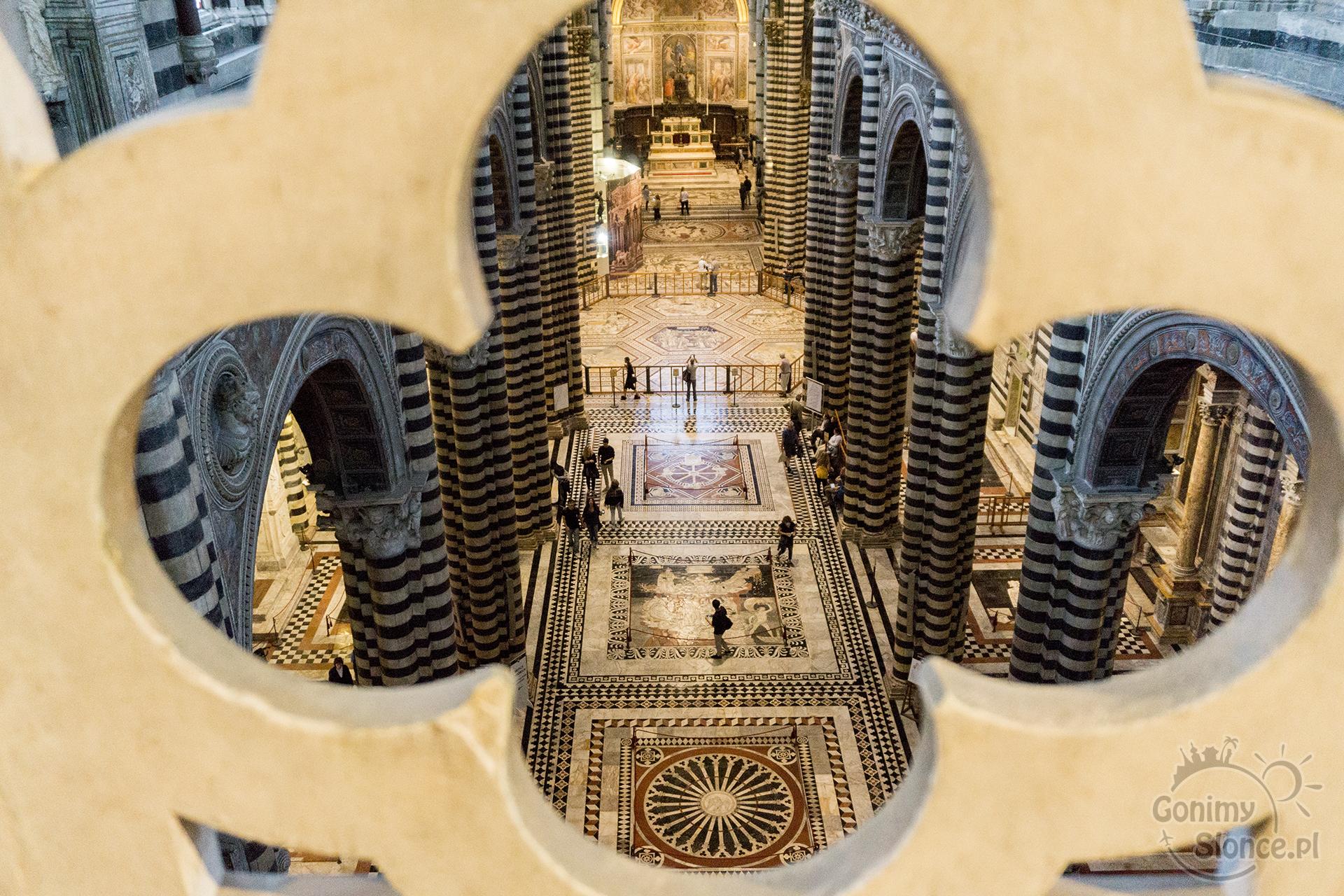 Siena, Katedra Duomo, Włochy 2017