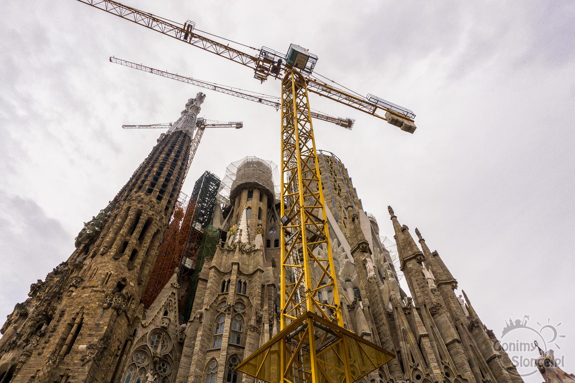 Sagrada Familia wciąż w budowie