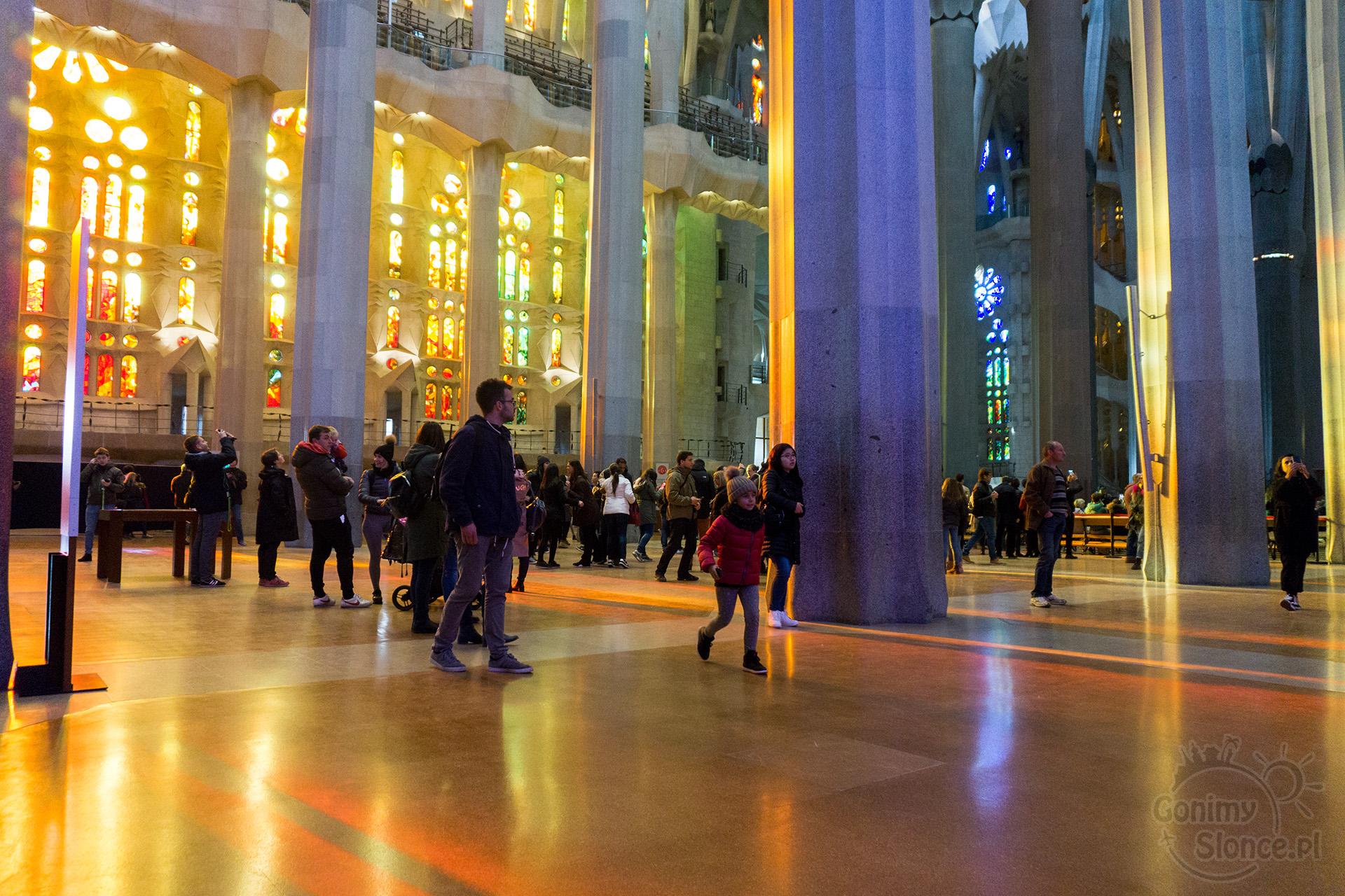 Sagrada Familia poza sezonem
