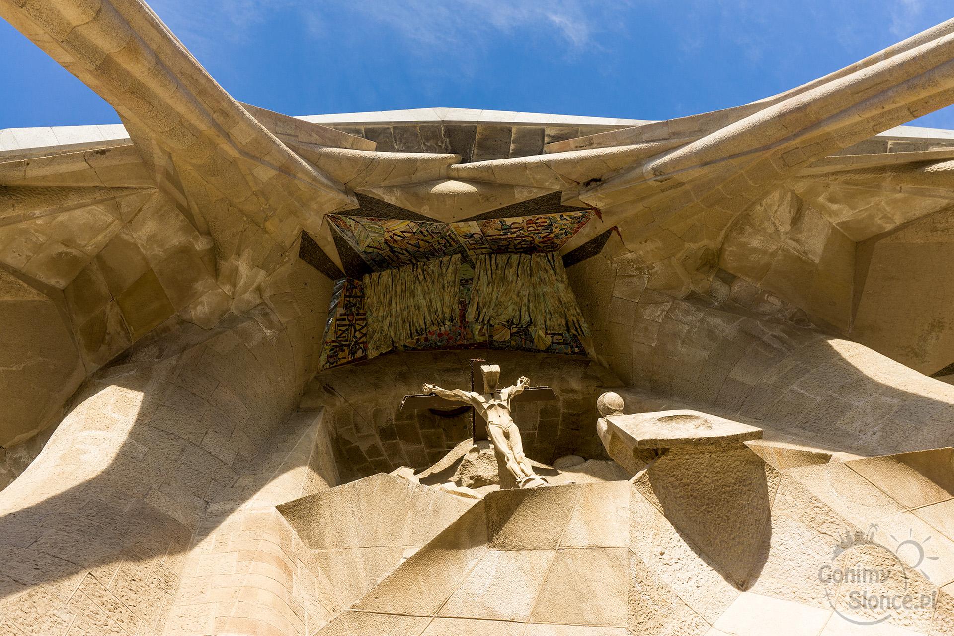 Sagrada Familia - wyjście z bazyliki