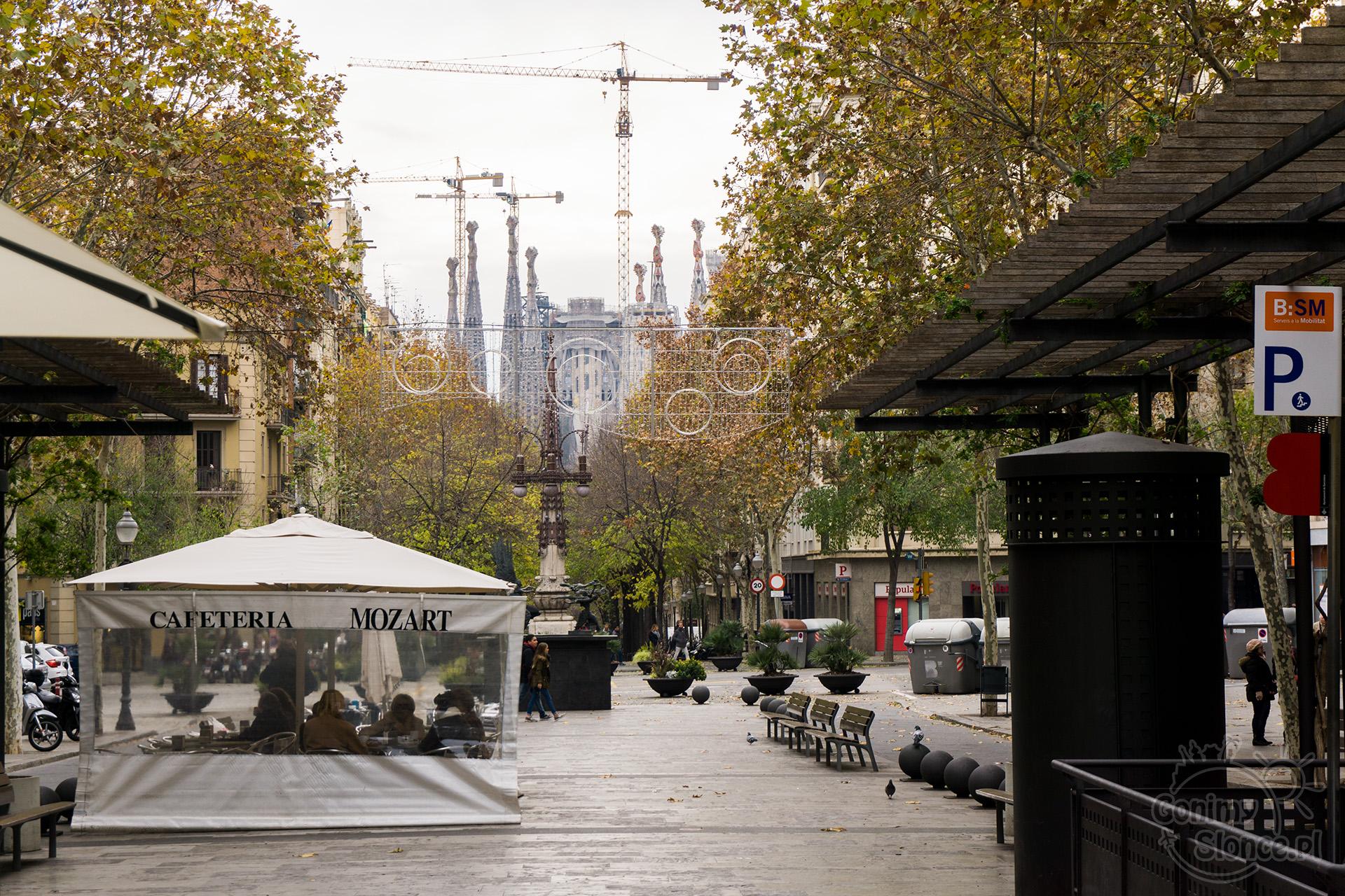 Aleja Gaudiego, Barcelona