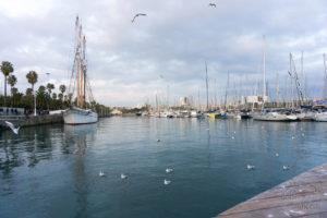 Port jachtowy, Barcelona