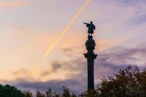 Krzysztof Kolumb, Barcelona, port