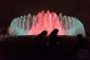 Barcelona, co warto zobaczyć - fontanny