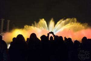 Atrakcje Barcelony - fontanny