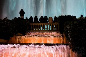 Woda i światło, spektakl w Barcelonie